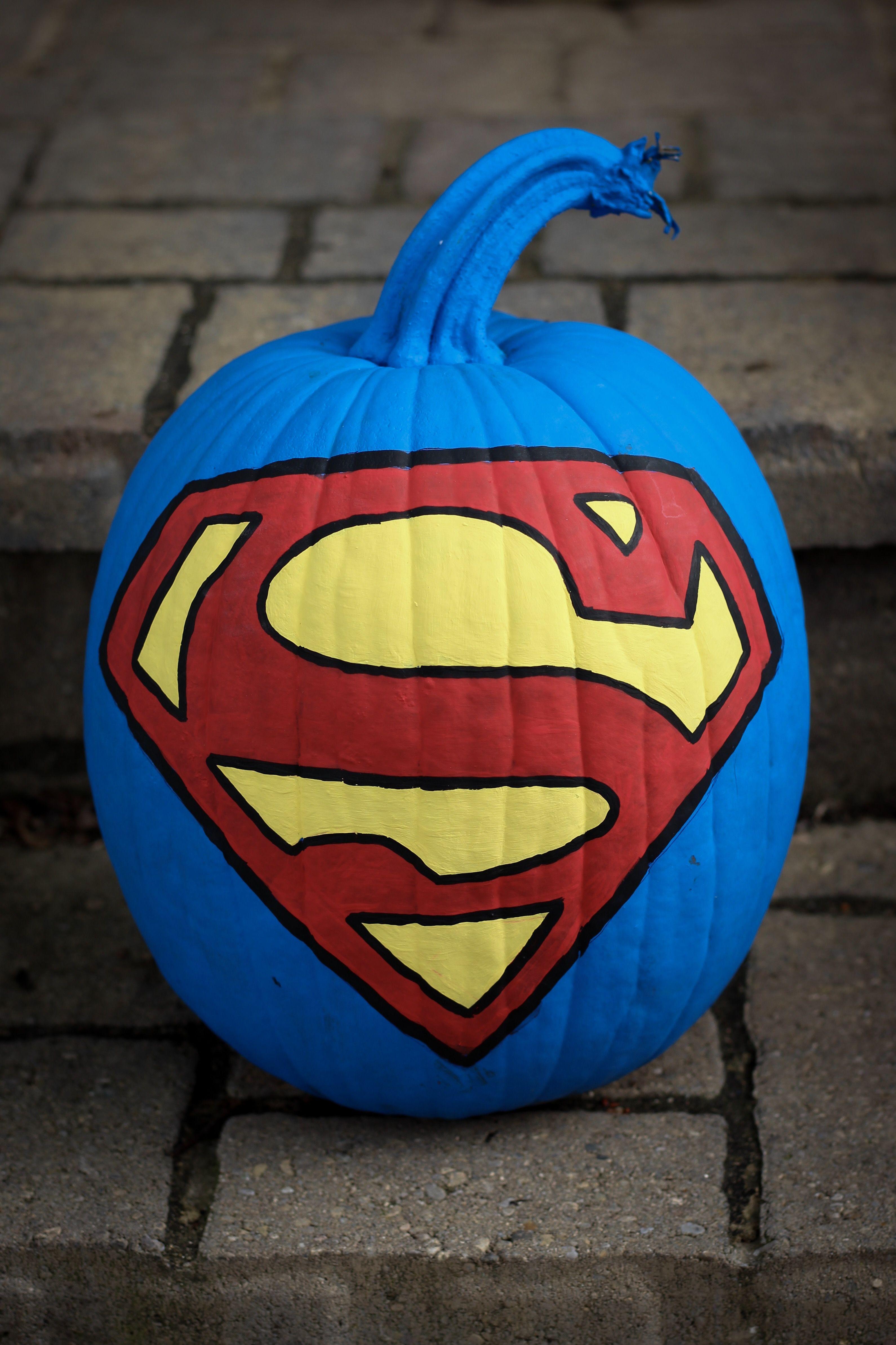 Pumpkin Superman Logo Logodix