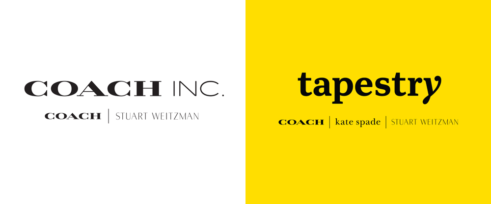 Coach Logo - Brand New: New Name, Logo, and Identity for Tapestry by Carbone ...