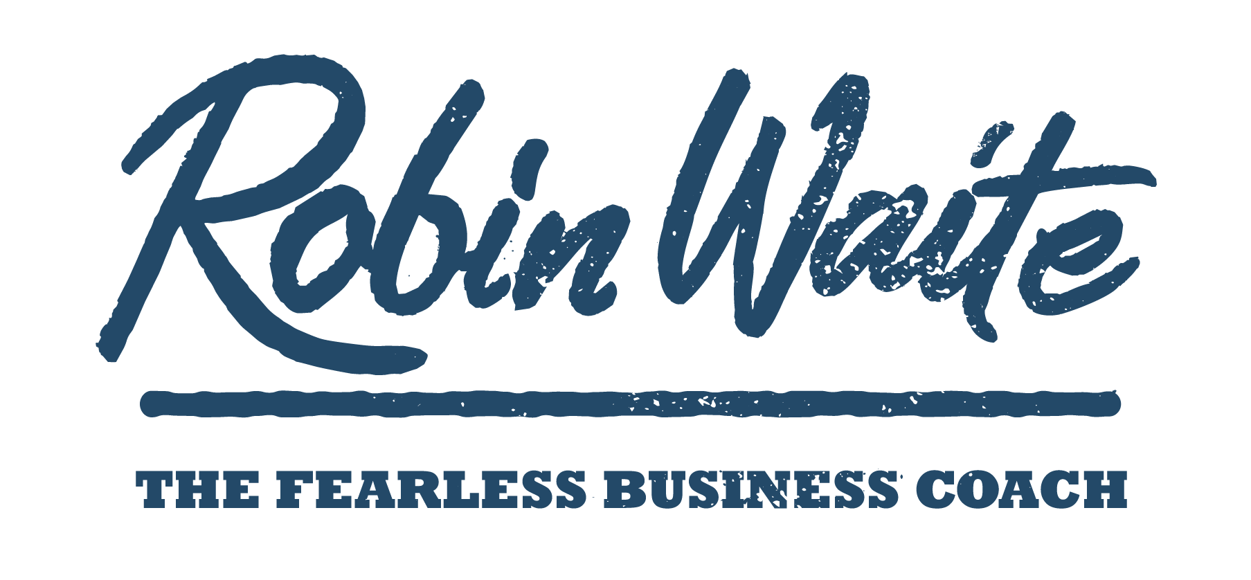 Coach Logo - Robin Waite - Business Coach, Author and Speaker