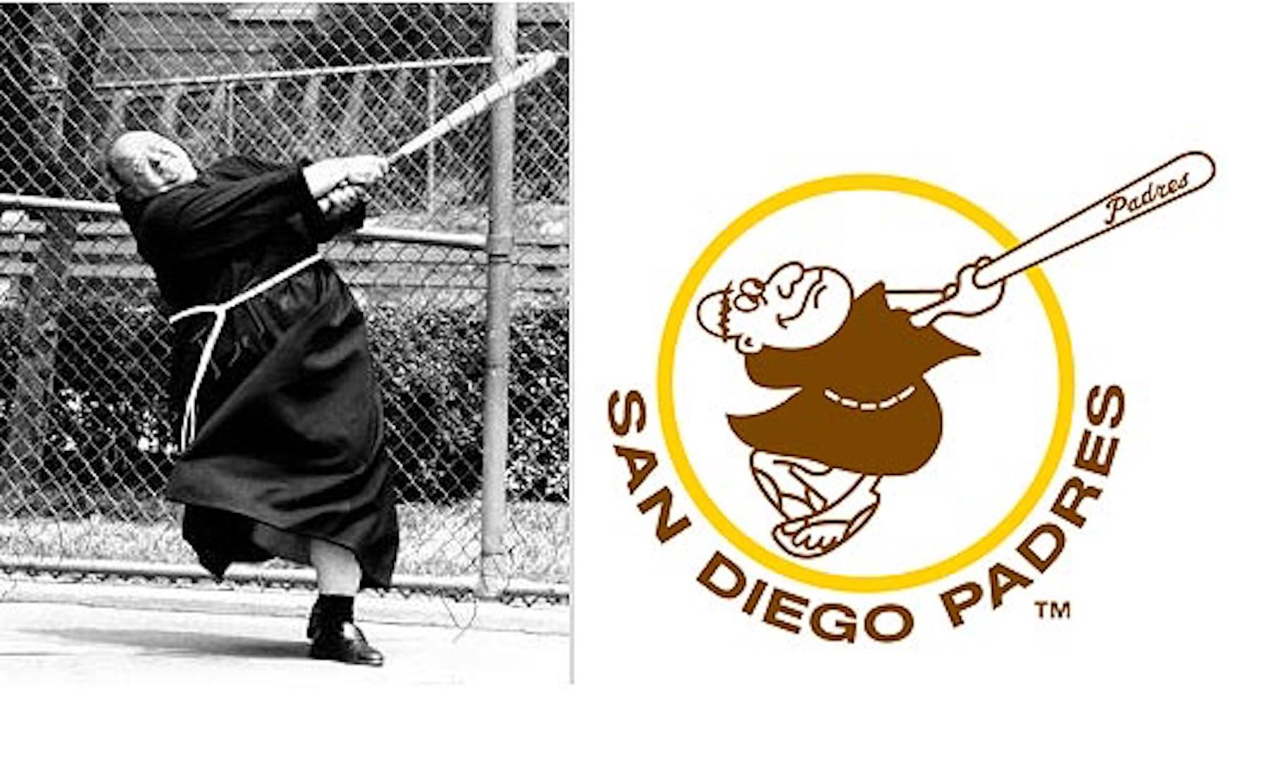 Padres Old Logo - Callaway pimps San Diego Padres stadium - GolfPunkHQ