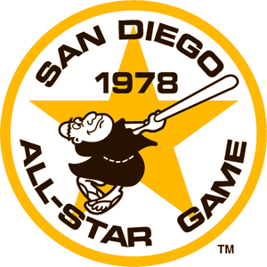 Padres Old Logo - 1978 Major League Baseball All-Star Game