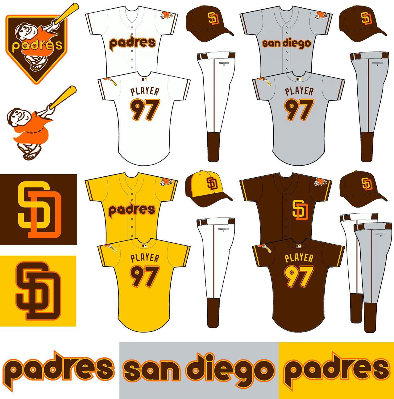 Padres Old Logo - San Diego Padres Possibly To Get New Uniforms - Page 6 - Sports ...