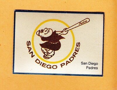 Padres Old Logo - VINTAGE SAN DIEGO PADRES LOGO PATCH Unused OLD RARE - $3.95 | PicClick