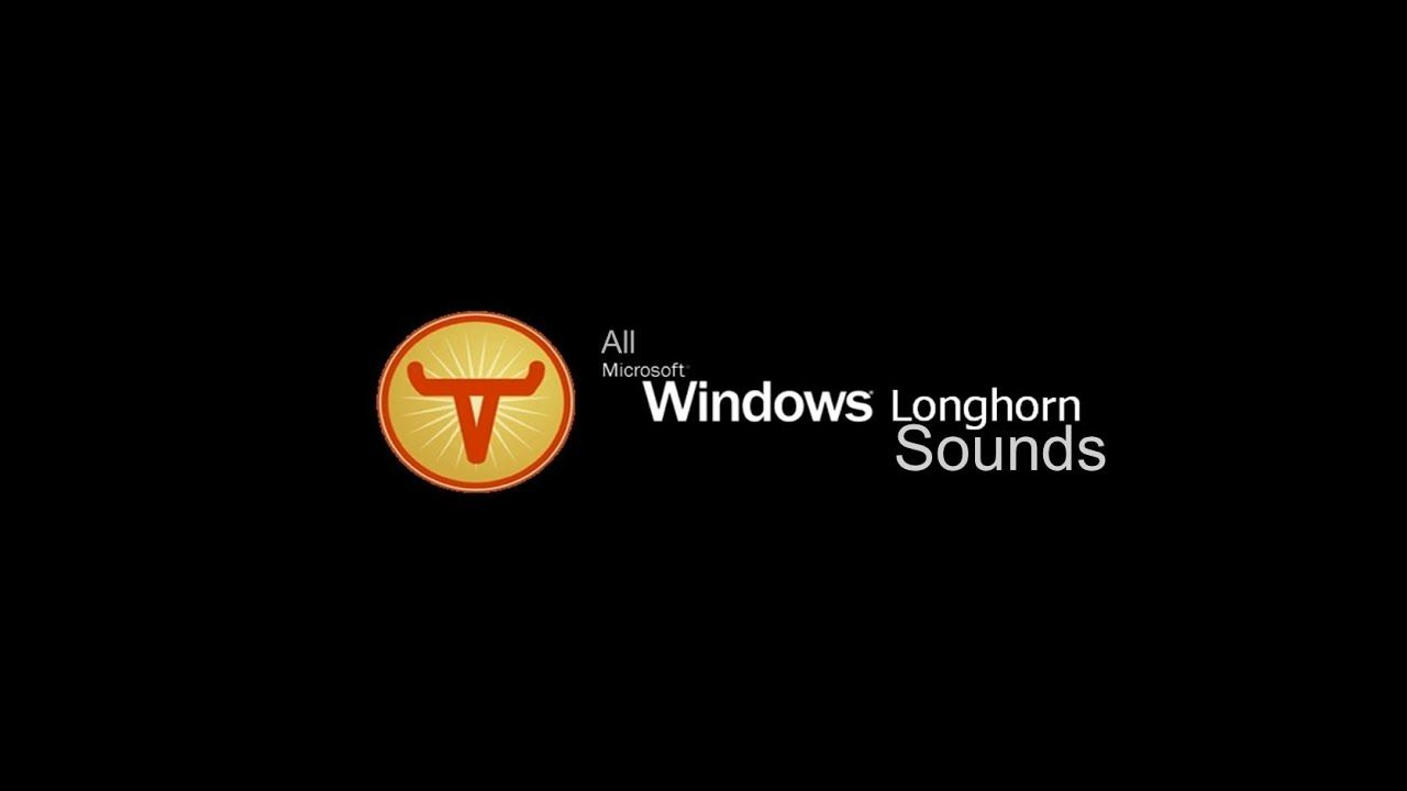 windows longhorn startup and shutdown sounds