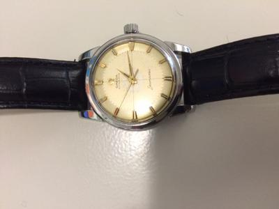Watch with Cross Logo - Omega Watches Expert