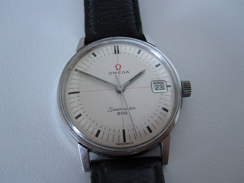 Watch with Cross Logo - Dials | Omega Seamaster 600