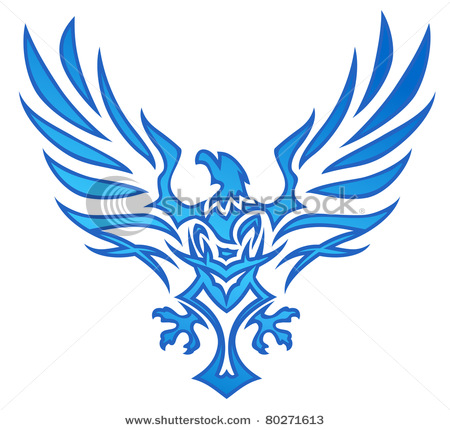 Blue Flying Eagle Logo - LogoDix