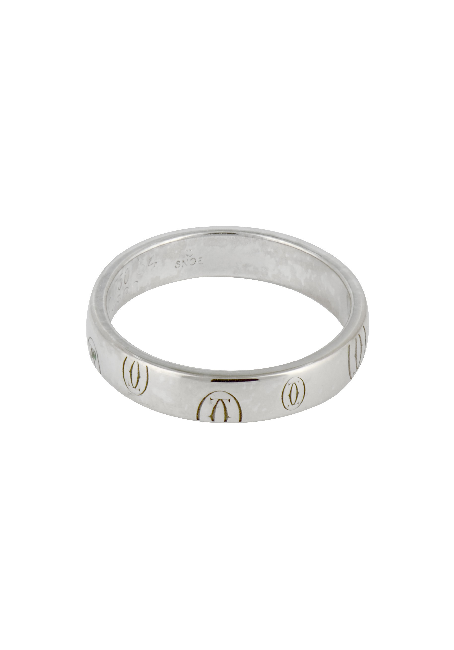 Cartier Logo - Pre-owned Ring Logo CARTIER : Ref B4050900 - Cresus