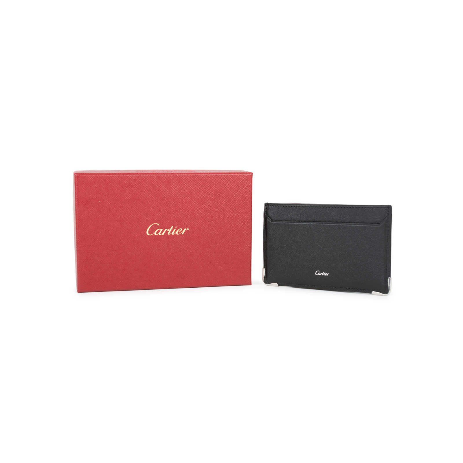 Cartier Logo - Authentic Pre Owned Cartier Logo Cardholder (PSS-356-00017) | THE ...