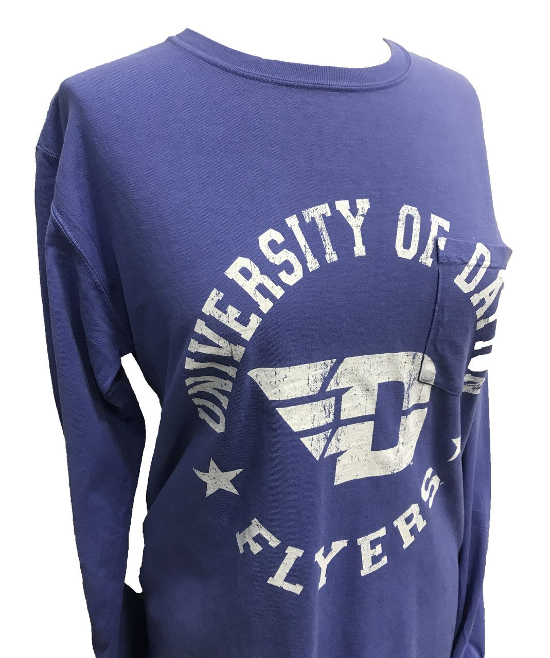 Circle around a Star Logo - COMFORT WASH LS GARMENT DYED LC- UNIVERSITY OF DAYTON STAR FLYERS ...
