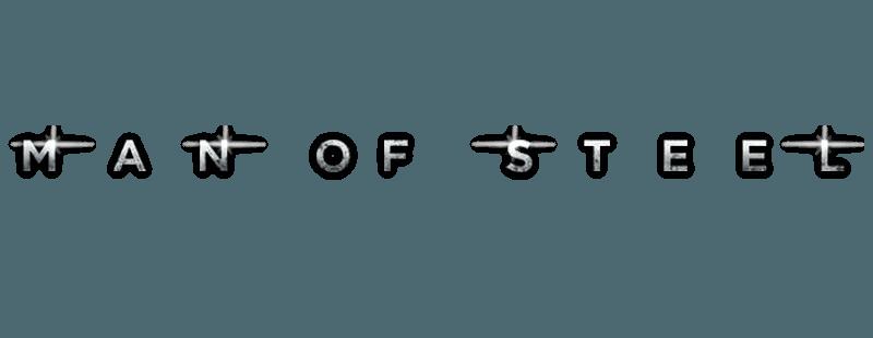 Man Of Steel Title Logo Logodix