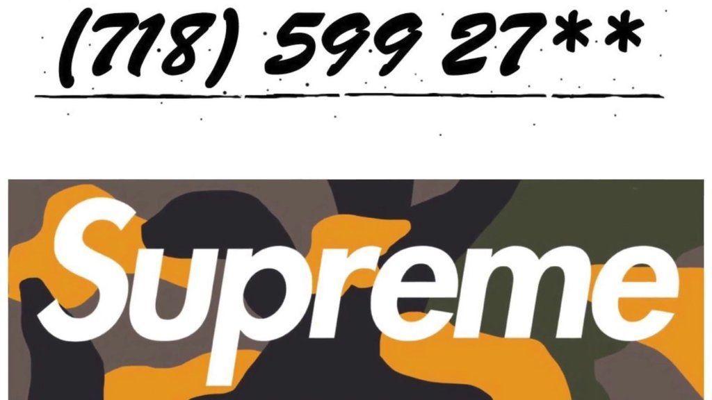 Fake BAPE Supreme Box Logo - LogoDix