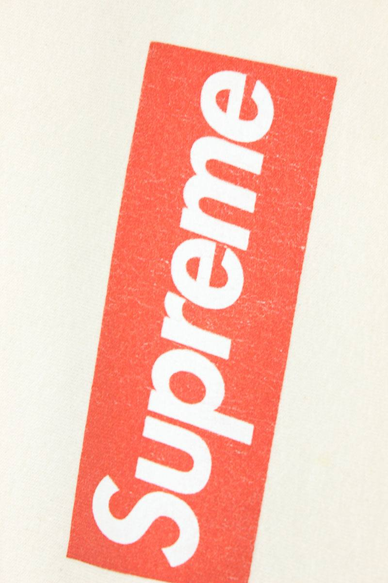 49aae1741 Off White Supreme Logo - RINKAN: Box logo T-shirt (L/ off