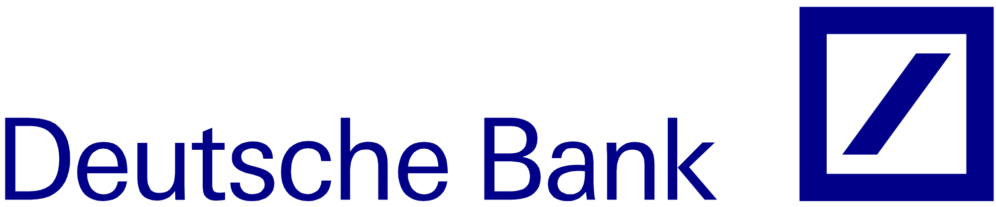 Deutsche Bank Logo - File:Deutsche Bank logo.svg - Wikimedia Commons