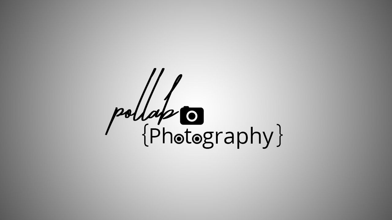 Photography Watermark Logo - How To Create Watermark Photography Logo Use Adobe Photoshop ...