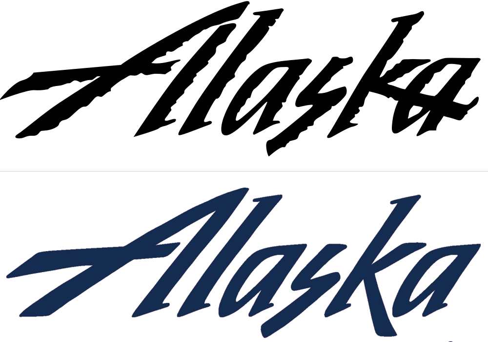 Alaska Airlines Logo - Brand New: New Logo for Alaska Airlines