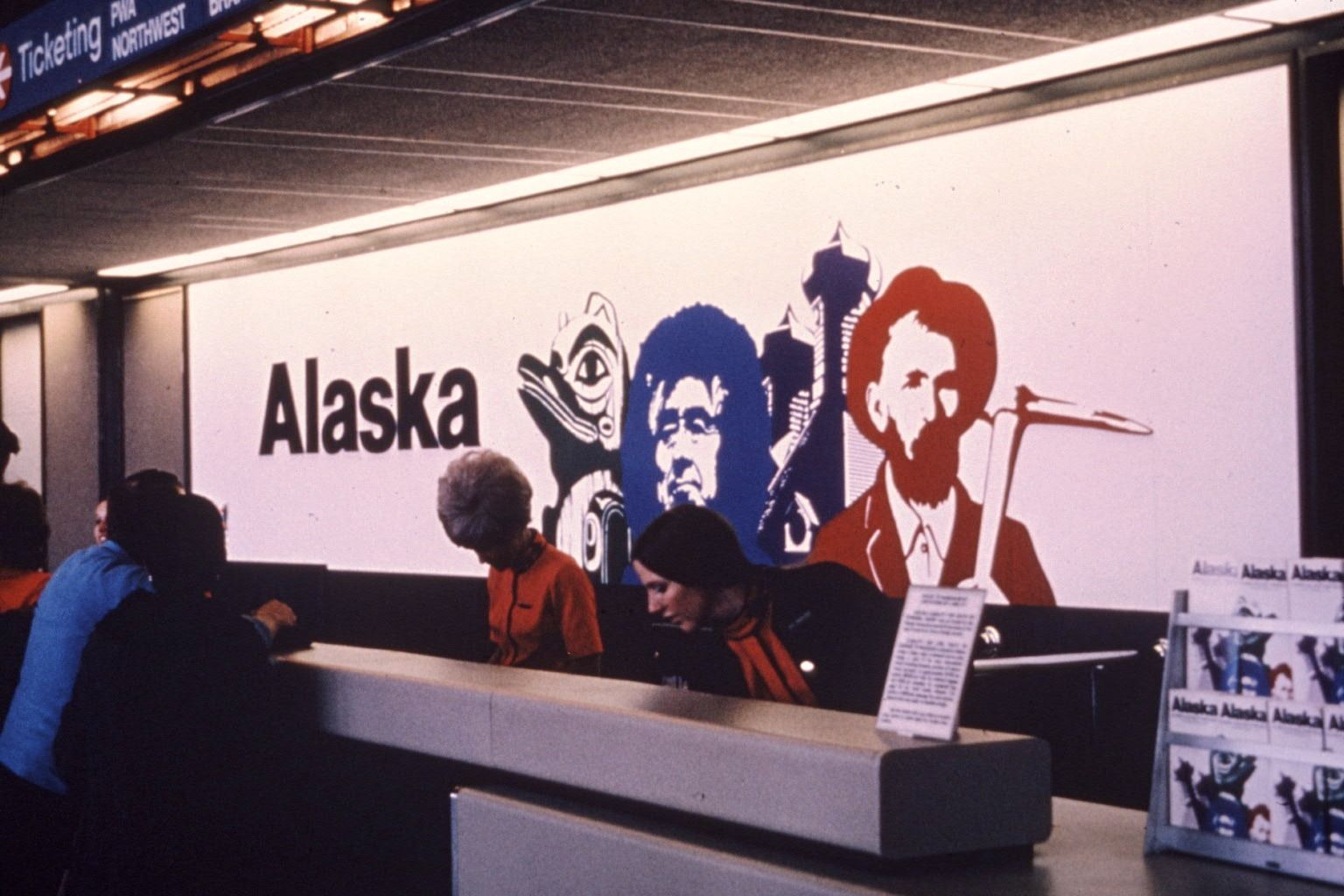 Alaska Airlines Logo - The story of the Eskimo: Who is on the tail of Alaska Airlines ...