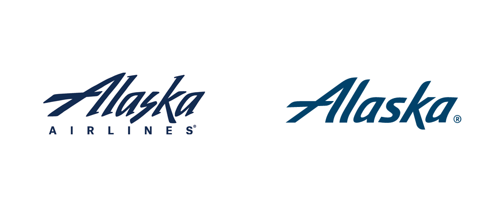 Alaska Airlines Logo - Brand New: New Logo, Identity, and Livery for Alaska Airlines by ...