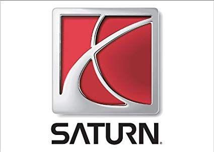 Saturn Logo - Amazon.com : NEOPlex Saturn Auto Logo with Words Traditional Flag ...