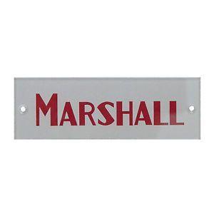 Red Marshall Logo - LogoDix