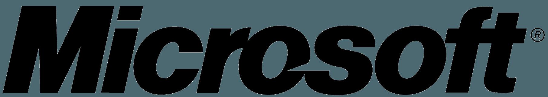 White Microsoft Logo - LogoDix