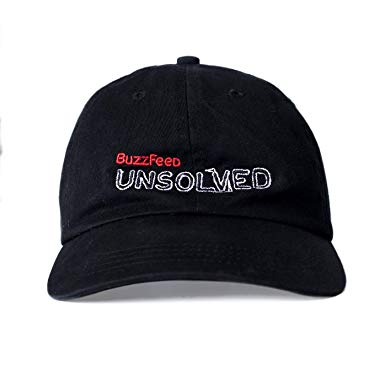BuzzFeed Logo - BuzzFeed Unsolved Logo Dad Hat at Amazon Men's Clothing store: