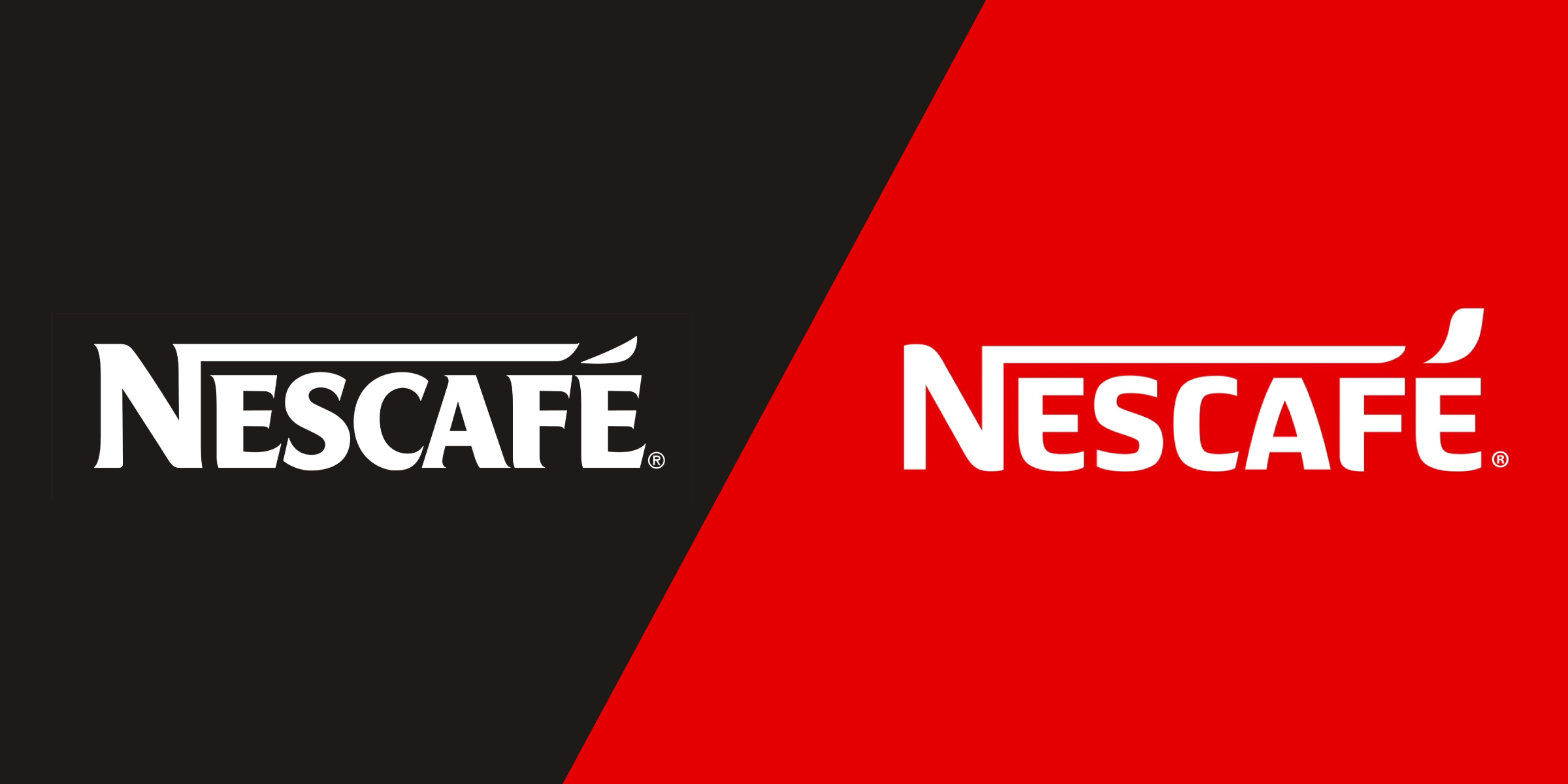 Nescafé Logo - Before & After: Nescafé Unveils New Logo and Global Branding | Dieline