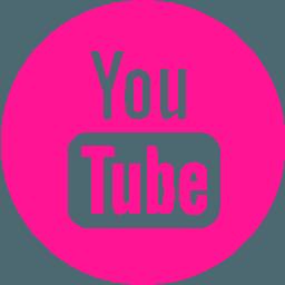 Pink Youtube Logo Logodix