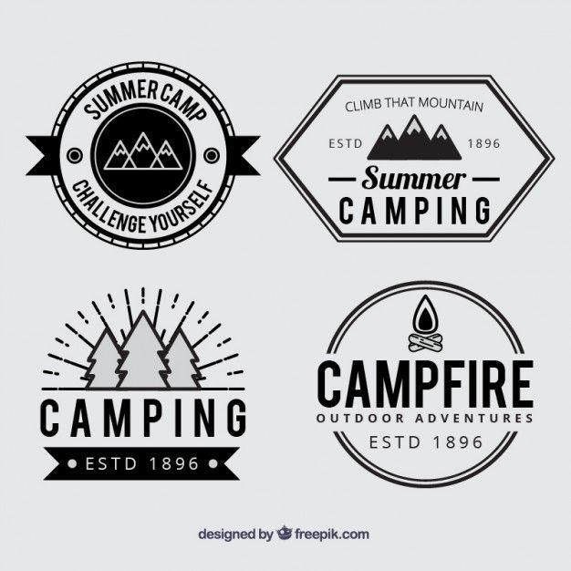 Vintage Camp Logo - LogoDix