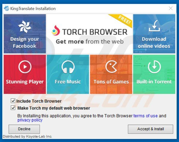 Torch Browser Logo - LogoDix