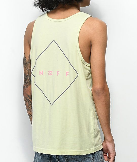 2fbeed862 Tank Top Neff Logo - Neff Logo Lock Lemonade Tank Top | Zumiez
