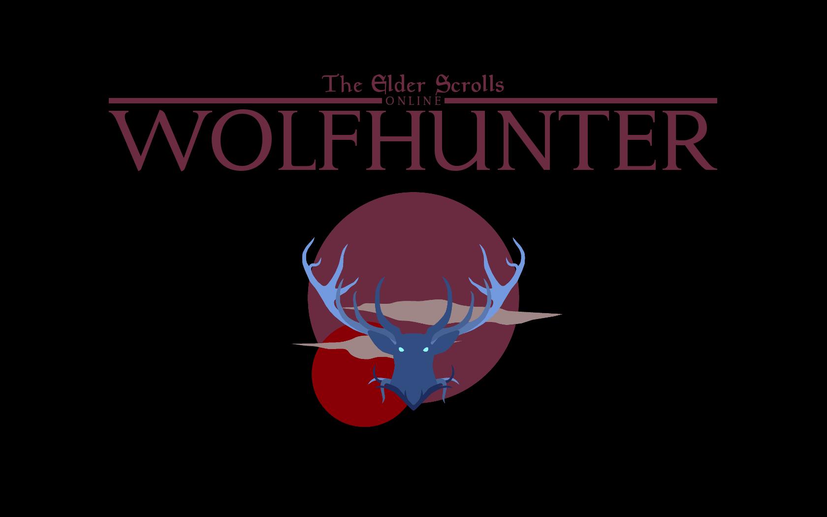 Wolf Hunter Logo Logodix