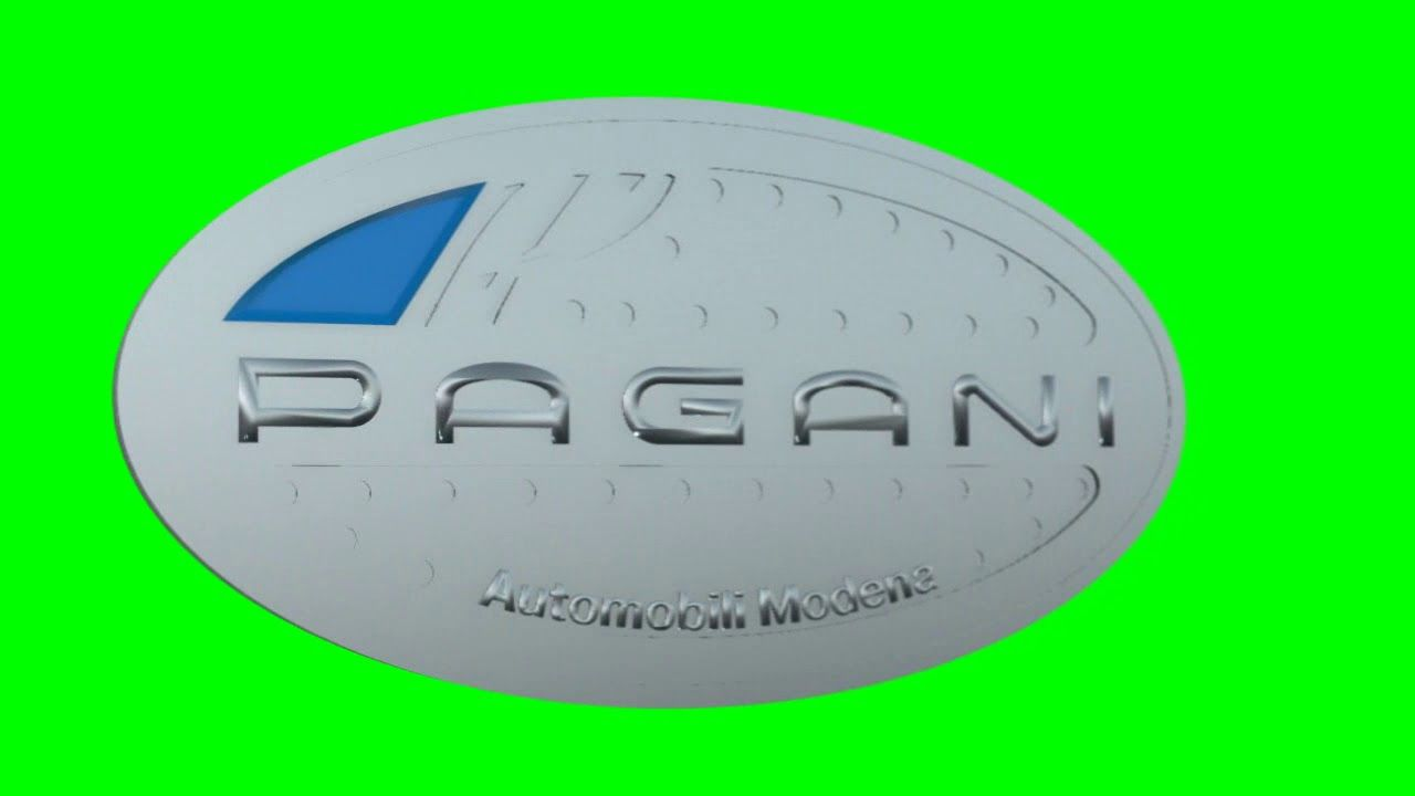 Pagani Logo - Pagani logo chroma - YouTube