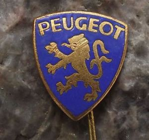 Cars with Lion Logo - 1950 to 1960 Antique Peugeot Cars France Automobiles Rampant Lion ...