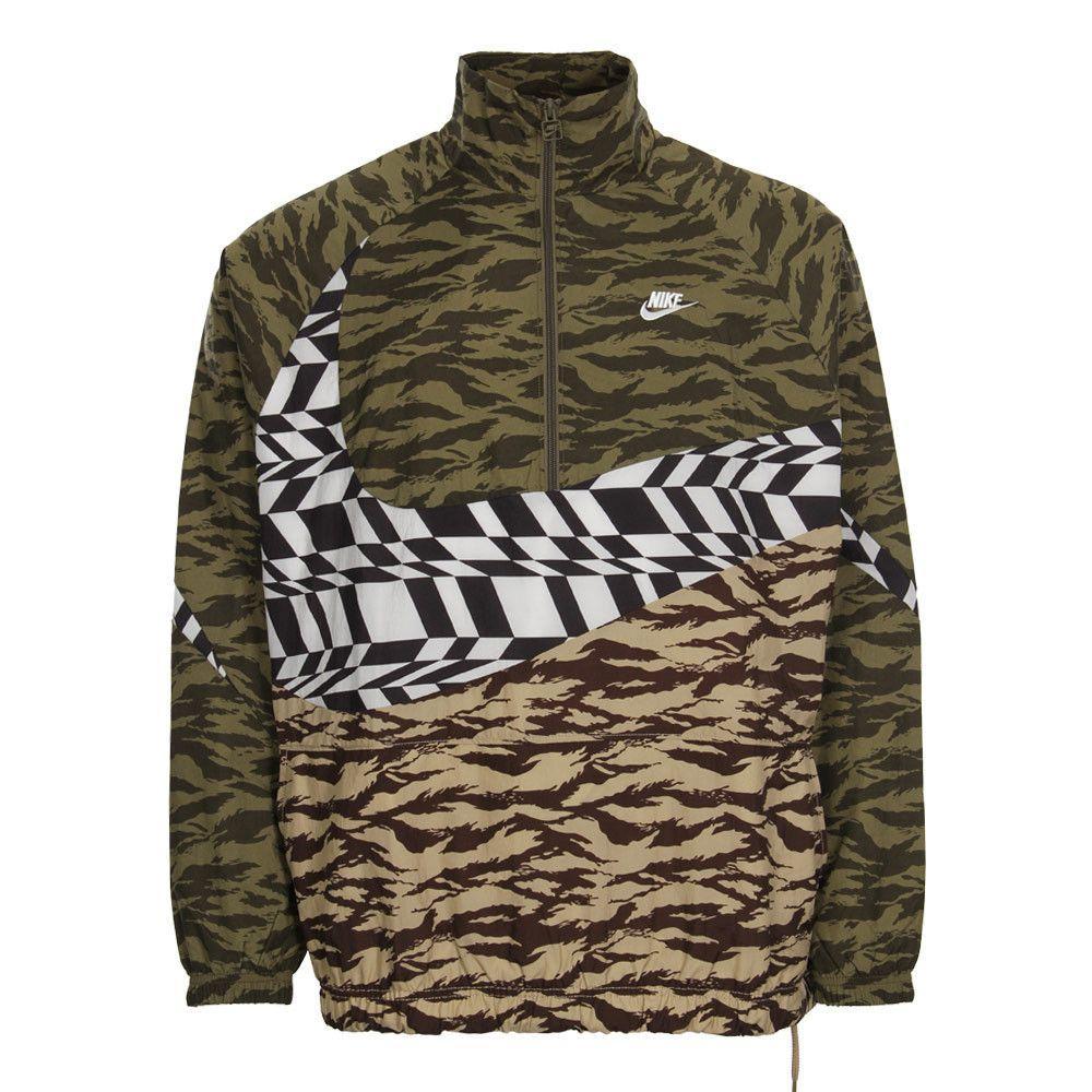 9374fc26 Camo Nike Swoosh Logo - Nike Swoosh Jacket | AO0862 222 Camo | Aphrodite1994