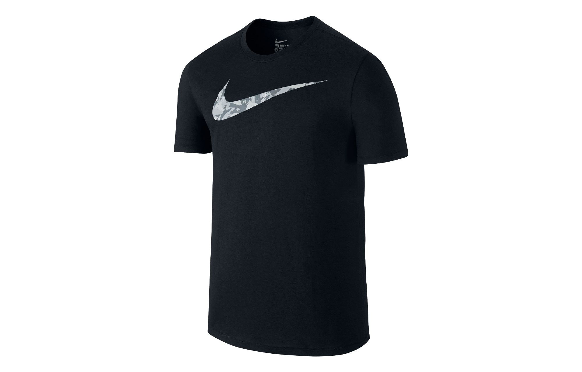 17dd4bd4 Camo Nike Swoosh Logo - NIKE T-Shirt SWOOSH CAMO Black Men | Alltricks.