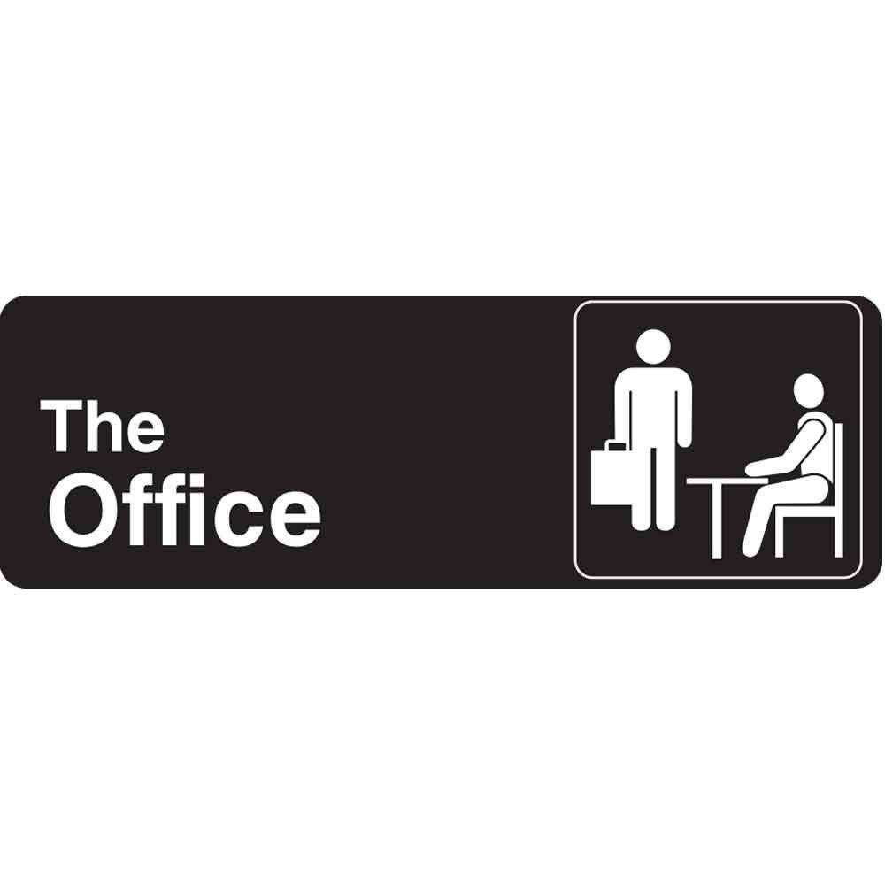 White the Office Logo - LogoDix