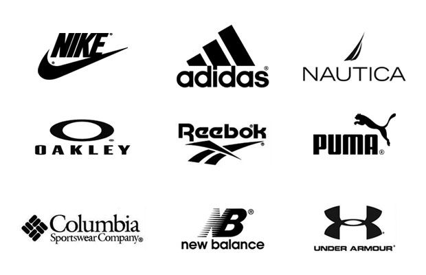 Famous Sportswear Logo - 14 Famous Sports Company Logos And Top Brands BrandonGaille Com ...