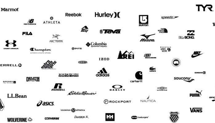 Famous Sportswear Logo - Brands - A3 APPAREL USA