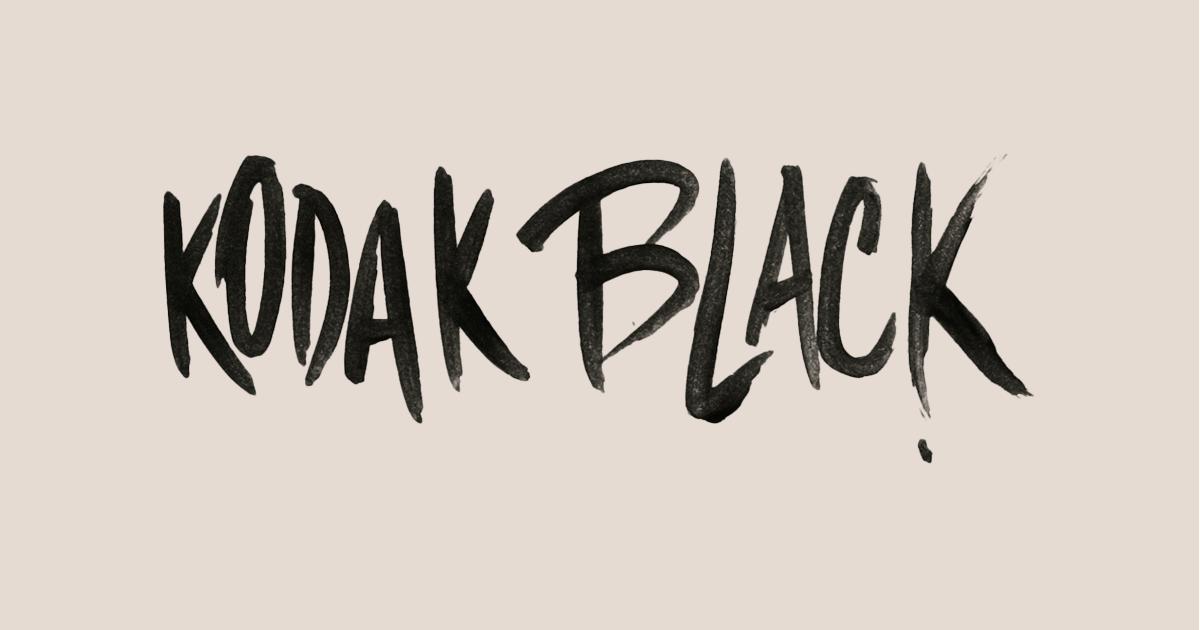 Kodak Black Logo - LogoDix