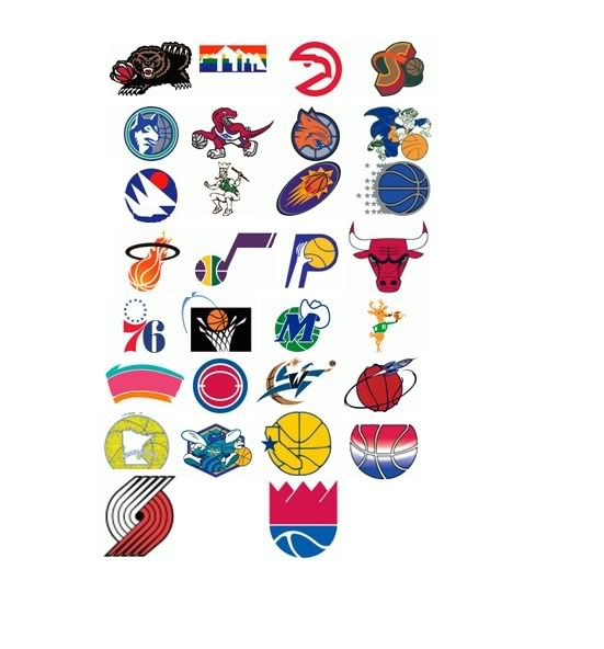 Old Basketball Logo - Old NBA Logos Quiz - By mgoblue_93