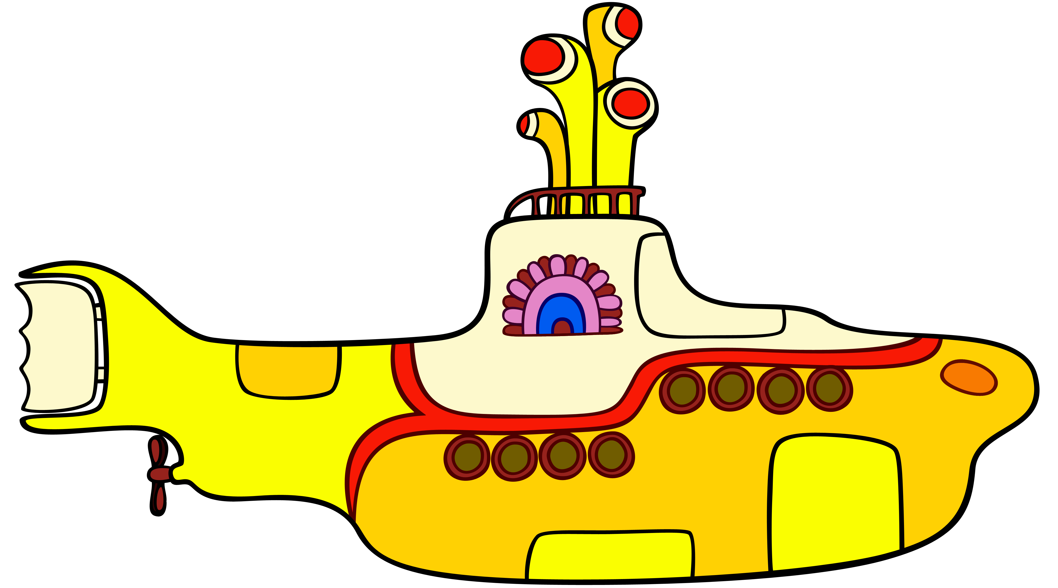 Beatles Yellow Submarine Logo Logodix