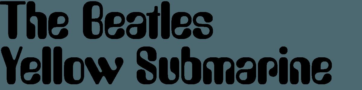 Beatles Yellow Submarine Logo - LogoDix