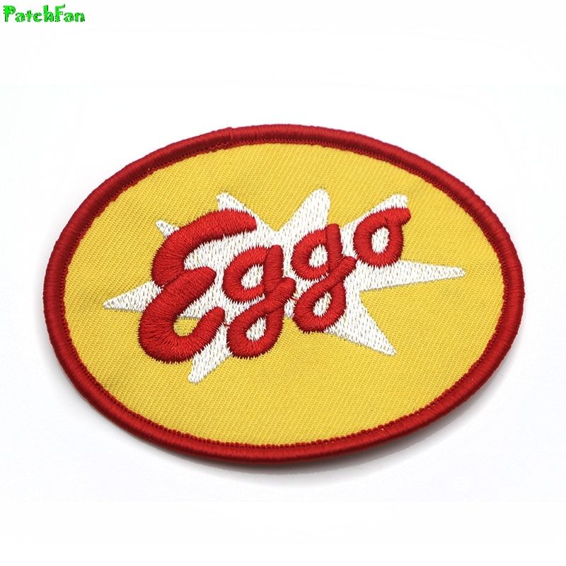 Eggo Logo - Stranger Things Eggo Waffles Logo Patches Embroidered-in Patches ...