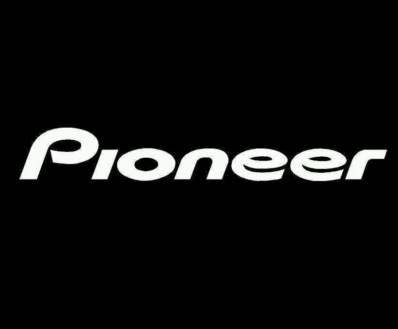 White Pioneer Logo Logodix