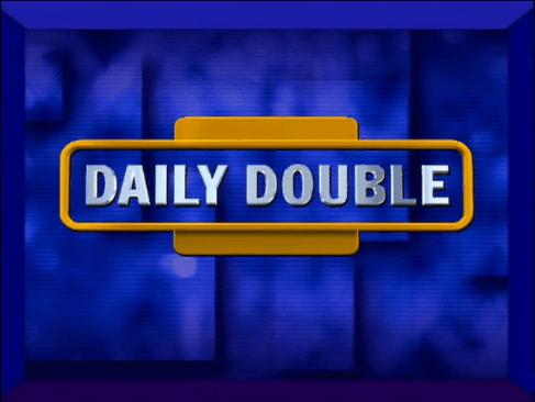 Jeopardy Daily Double Logo