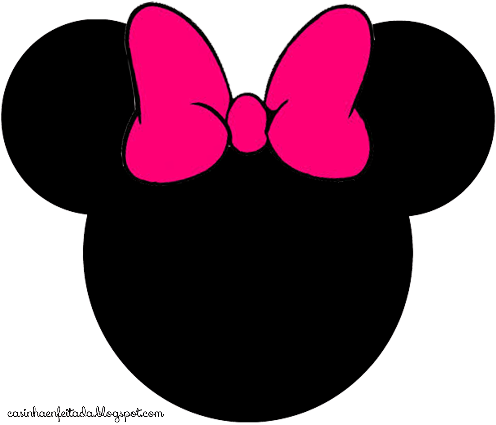 Minnie Mouse Logo - Free Minnie Mouse Face Vector, Download Free Clip Art, Free Clip Art ...