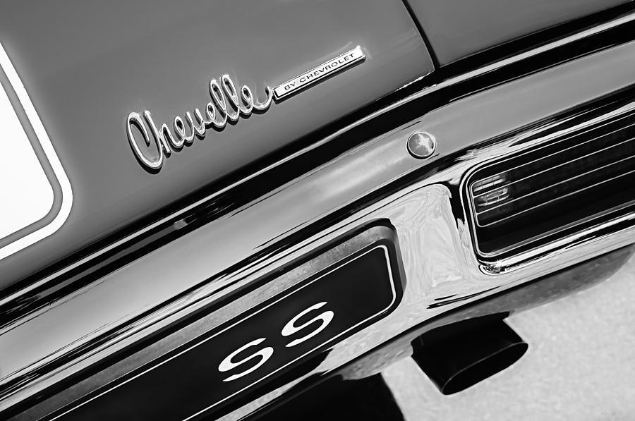 1971-72 Chevelle By Chevrolet Trunk Emblem