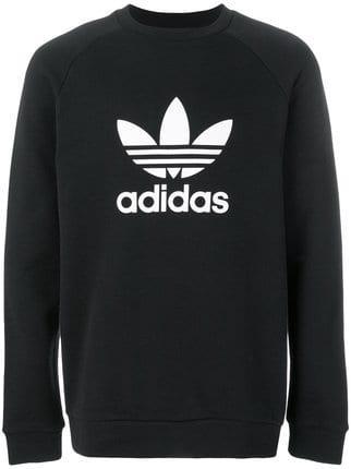 715ba7ff7fd Adidas Originals Logo - Adidas Adidas Originals logo print sweatshirt £60 -  Shop Online SS19
