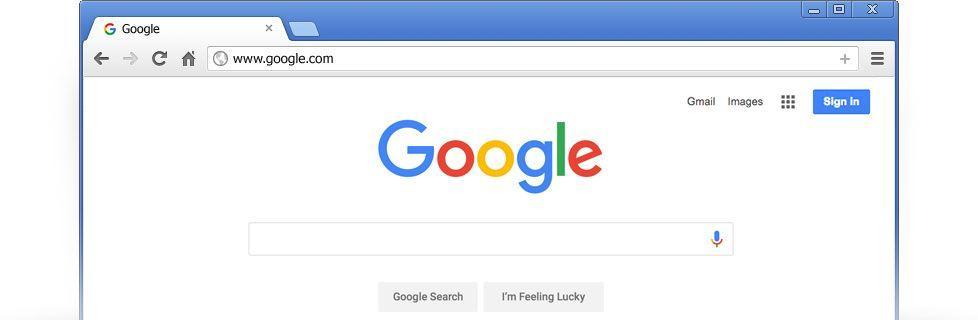 Original Google Homepage Logo - LogoDix
